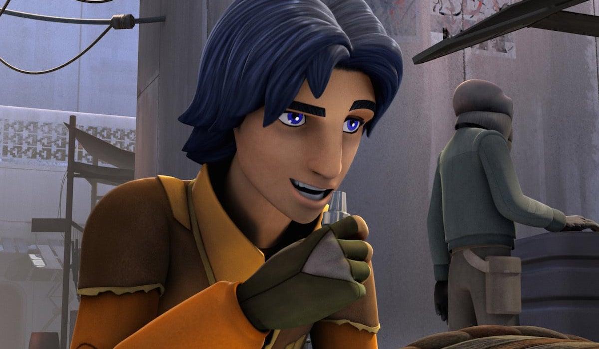 Ezra Bridger in Star Wars: Rebels