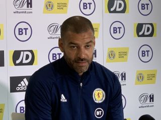 Scotland coach Steven Reid