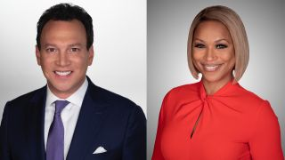 Wgcl Anchors Folbaum Gables Helm Cbs Evening News April 18 19 Broadcasting Cable