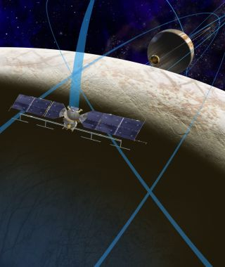 Artist's Concept of NASA Europa Mission