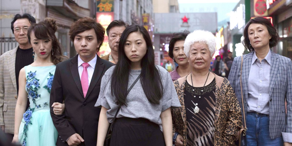 Awkwafina and The Farewell cast