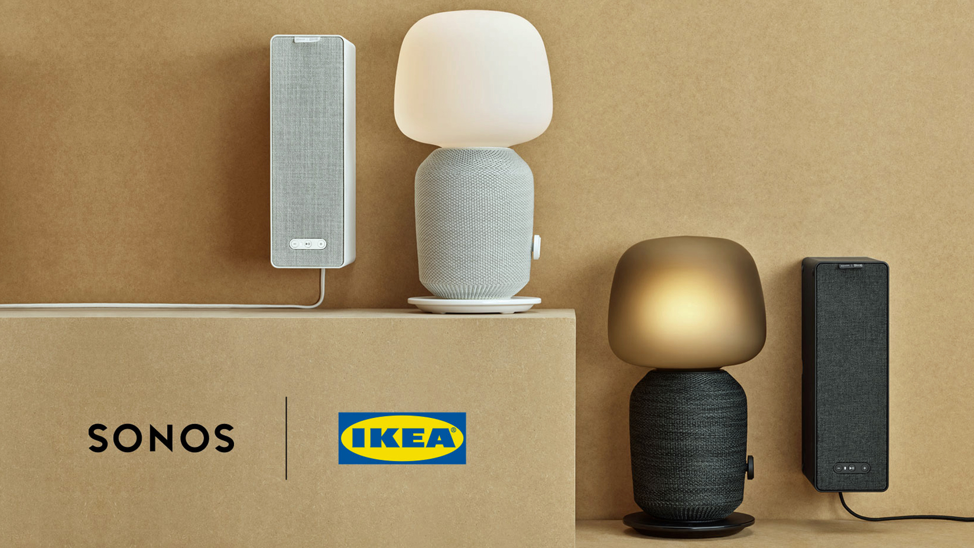 Sonos x Ikea multi room range includes