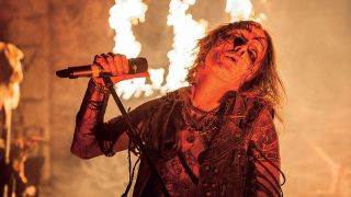 Watain performing live
