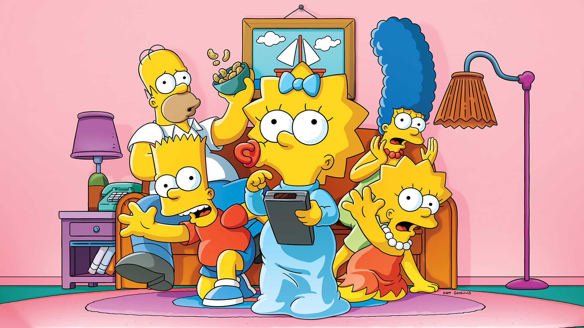 How to watch The Simpsons season 32 online and without cable   Tom's Guide