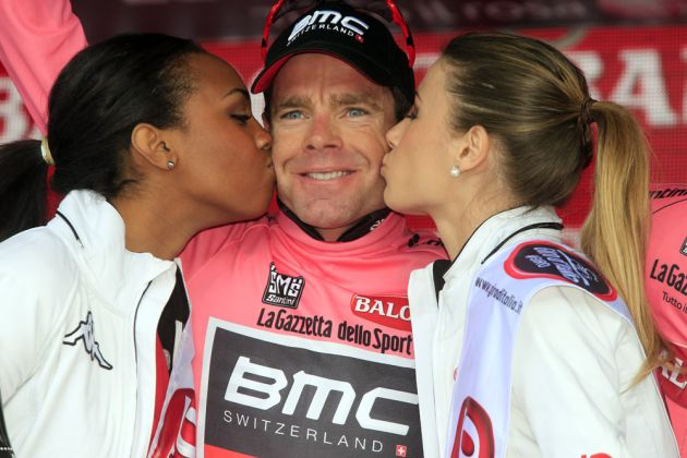 Cadel Evans after stage eight of the 2014 Giro d'Italia