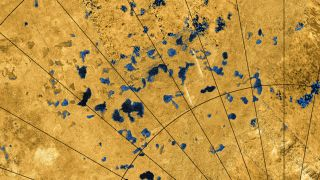Titan's surface sports many small lakes, which scientists studied in two new papers.