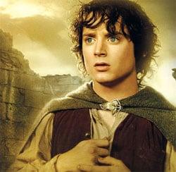 O Senhor dos Anéis - Elijah Wood, o Frodo, está preocupado ...   Elijah Wood Frodo Poster
