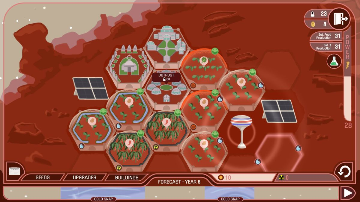 If you need a break from Earth, here's a neat free game about farming on Mars