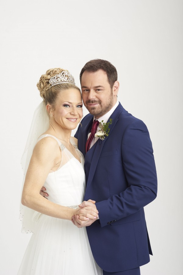 Kellie Bright and Danny Dyer in EastEnders (BBC)