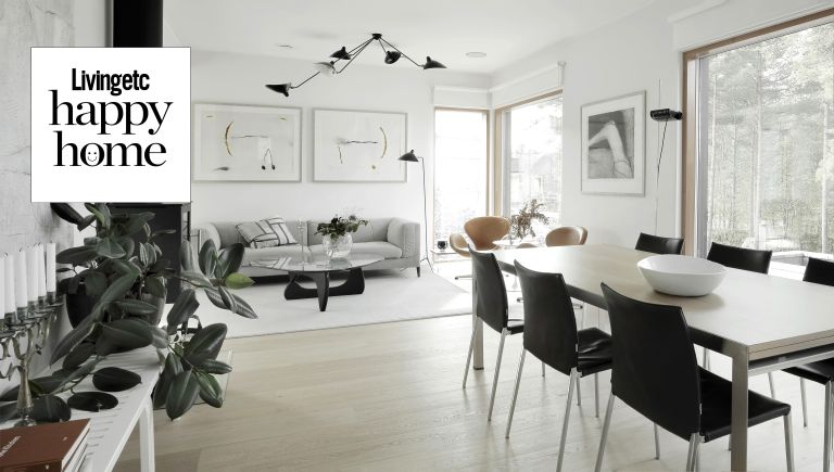 Finnish interior design style tips, home in Finland