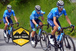 Enric Mas, Miguel Angel López and Alejandro Valverde will lead Movistar at the 2021 Tour de France