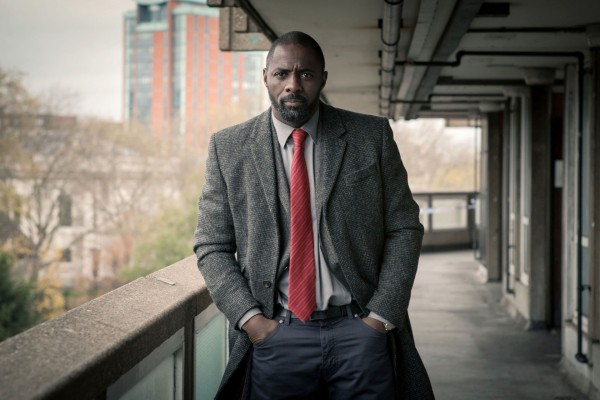 Idris as Detective John Luther (BBC)