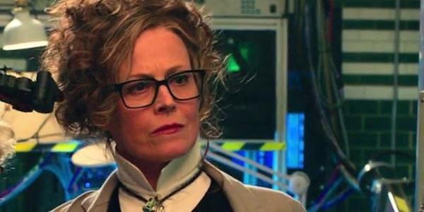 Sigourney Weaver as Rebecca Gorin in Ghostbusters
