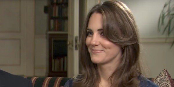 Kate Middleton in an interview