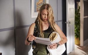 Raffy Morrison (Morgan) discovers some information about the Morgan family in Home and Away