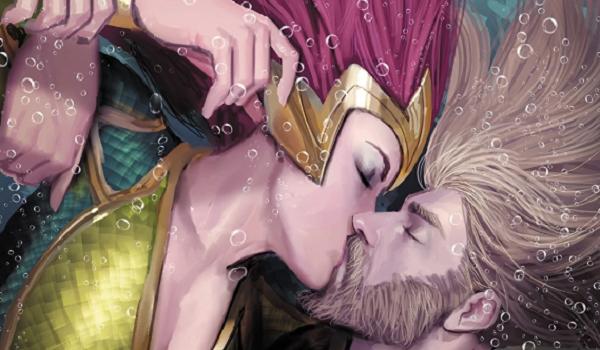Meera and Aquaman DC Comics