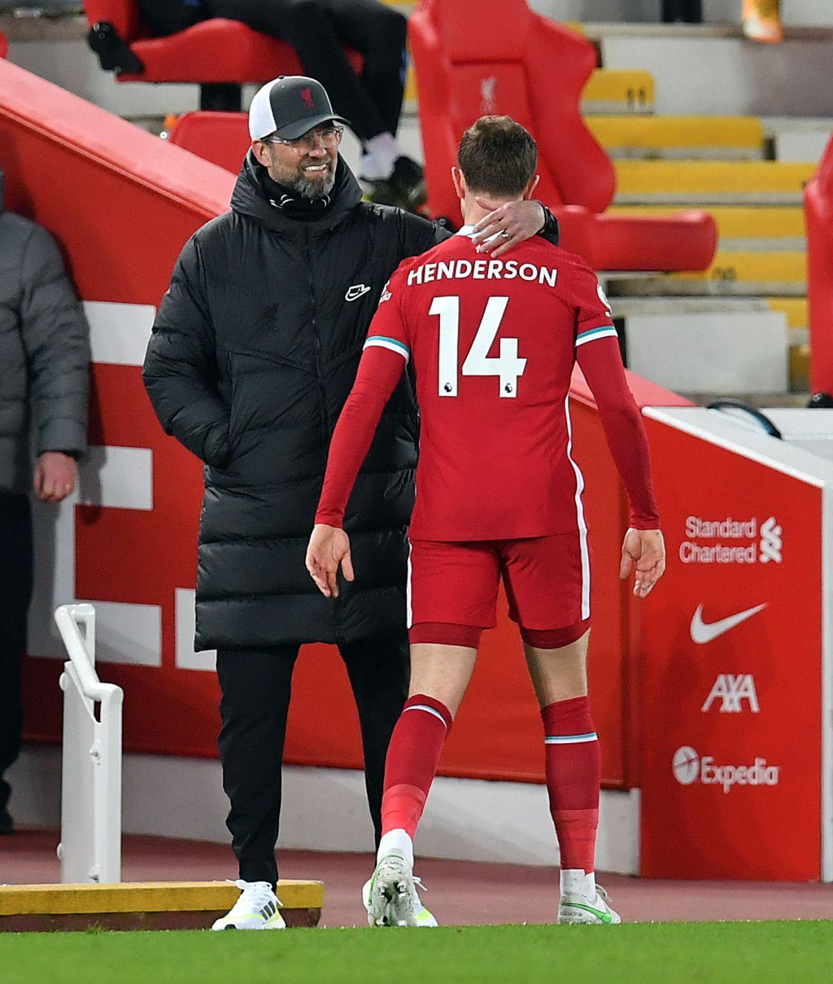 Jurgen Klopp hopes Jordan Henderson will be able to play again this season