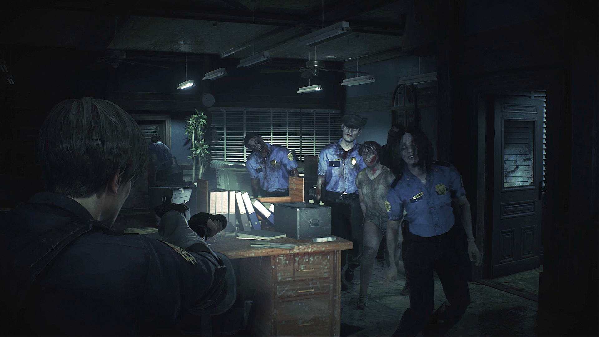 Resident Evil 2 Remake S Demo Teases Hunk And Tofu Pc Gamer