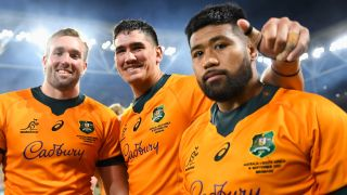 Wallabies rugby players