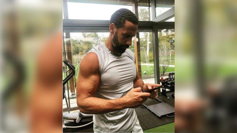 Rio Ferdinand workout exercise routine