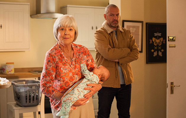 Granny Campbell is on a mission and Luke sabotages Mandy's wedding dress in Hollyoaks