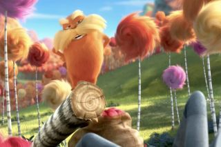 "A screenshot from the move ""The Lorax"""