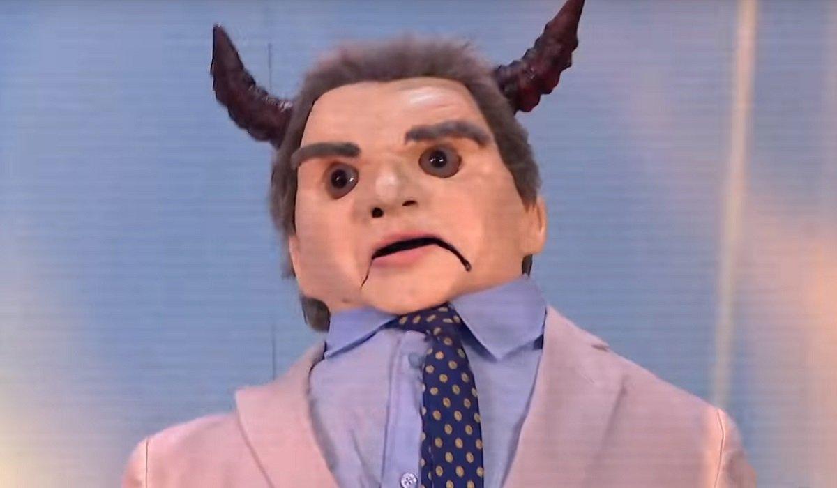 Puppet Vince McMahon WWE