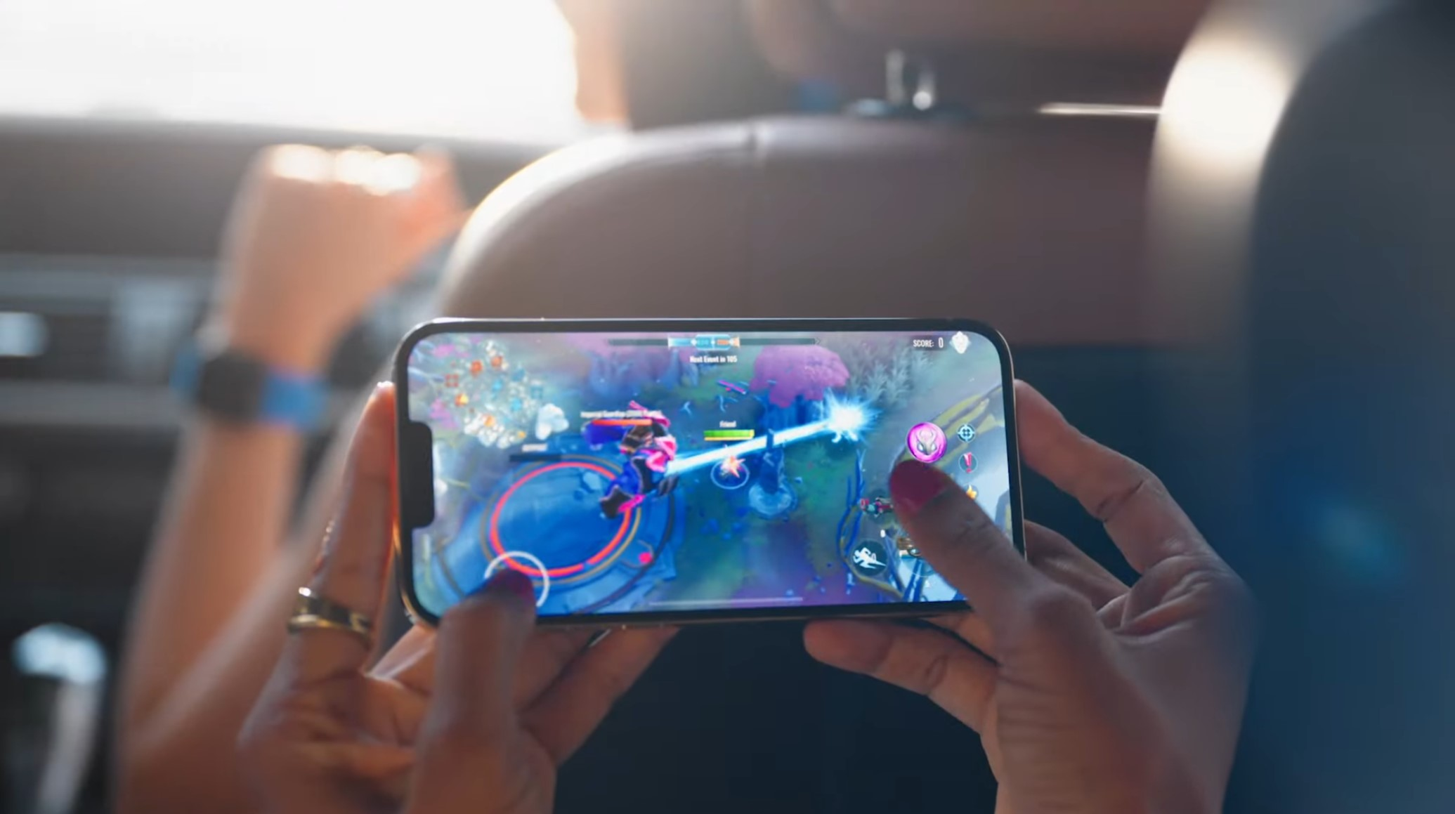 iPhone 13 touch and gaming