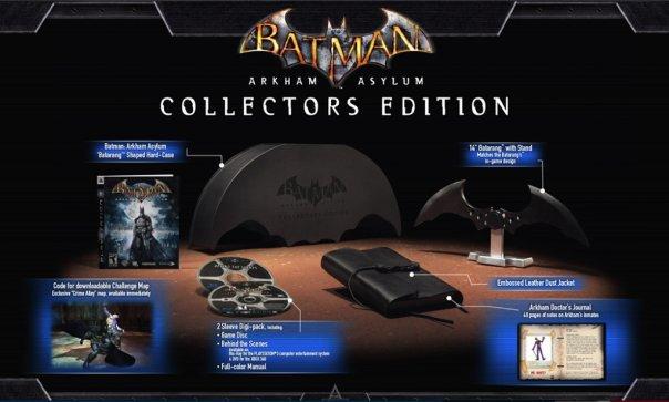 Batman: Arkham Asylum Collector's Edition Contents Confirmed #7088