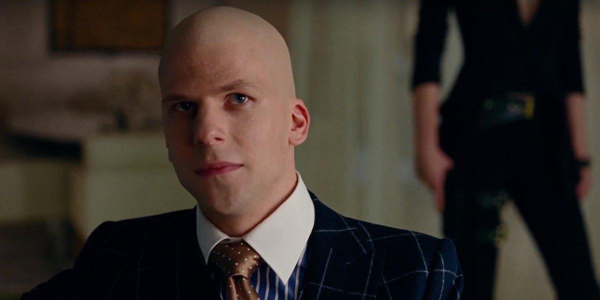 Jesse Eisenberg Suspects He Won't Play Lex Luthor Again