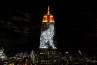 Christie Maps Endangered Animals onto Empire State Building