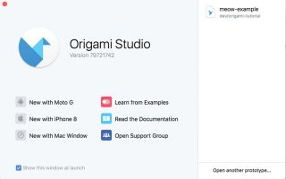 How to prototype a mobile app with Origami Studio
