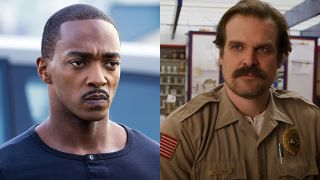 Anthony Mackie and David Harbour