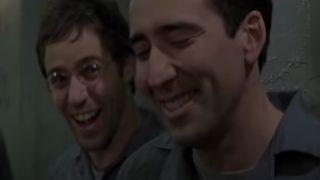 Alessandro Nivola and Nicolas Cage in Face/Off (1997)