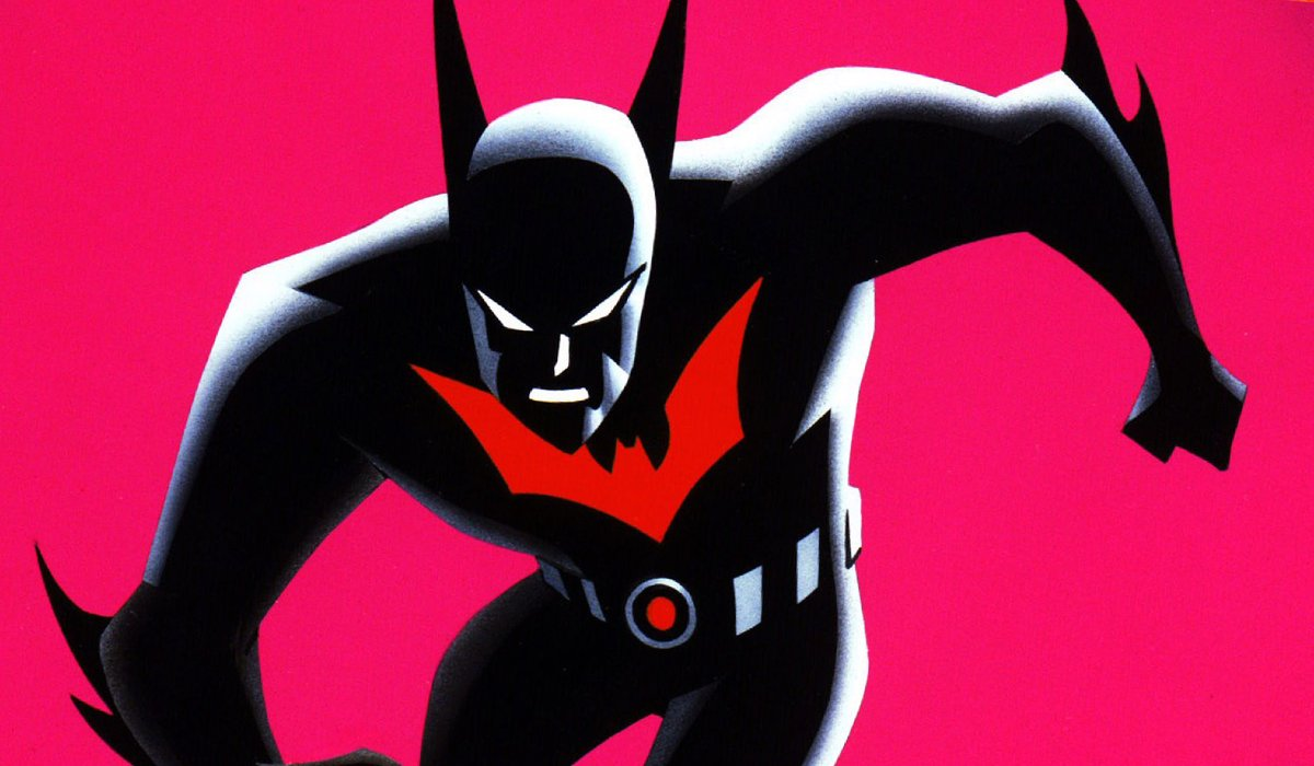 Batman Beyond Terry McGinnis suited up