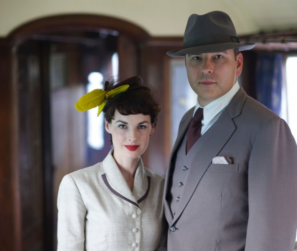 David Walliams and Jessica Raine as Tommy and Tuppance Beresford