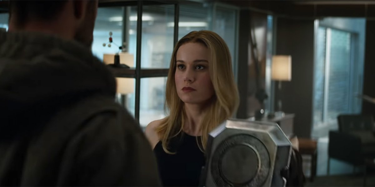 Brie Larson Lifted Thor's Hammer, And Natalie Portman Had The Perfect Response