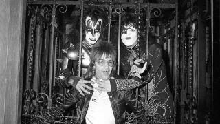 Rodney Bingenheimer with Kiss