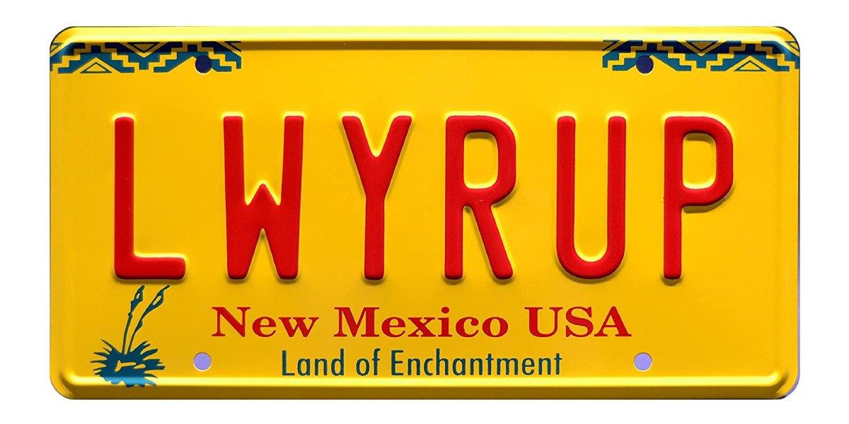 Breaking Bad License Plate