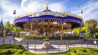 King Arthur's Carousel at Disneyland