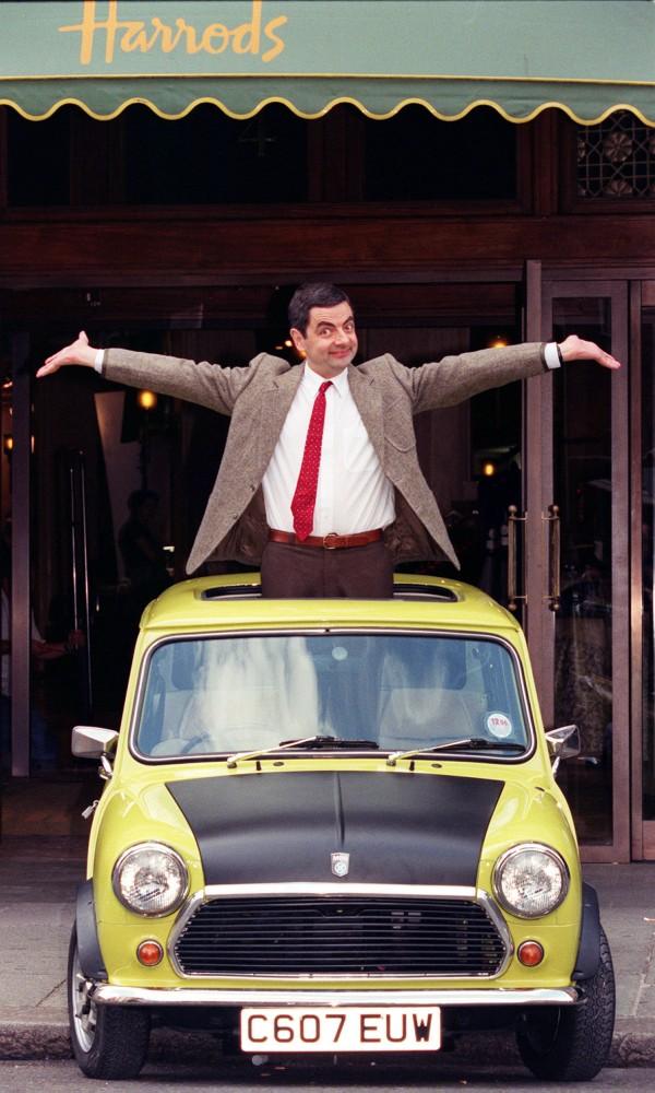 Mr Bean at Harrods