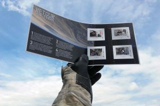 A new set of postage stamps issued by France's La Poste celebrate the recent flight of astronaut Thomas Pesquet.