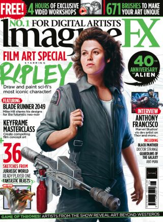 ImagineFX 173 cover