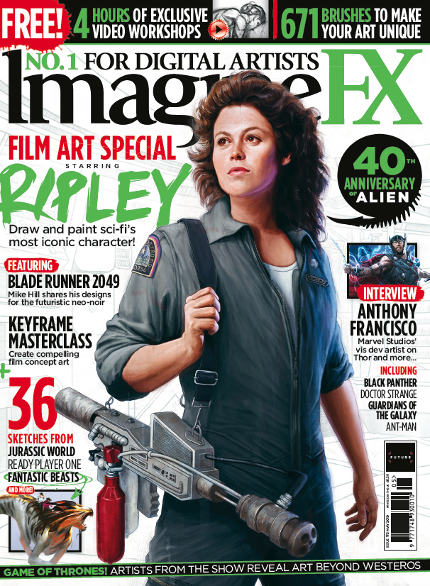 Create compelling film art with ImagineFX