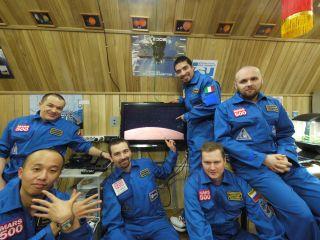 Mars 500 Crew Portrait