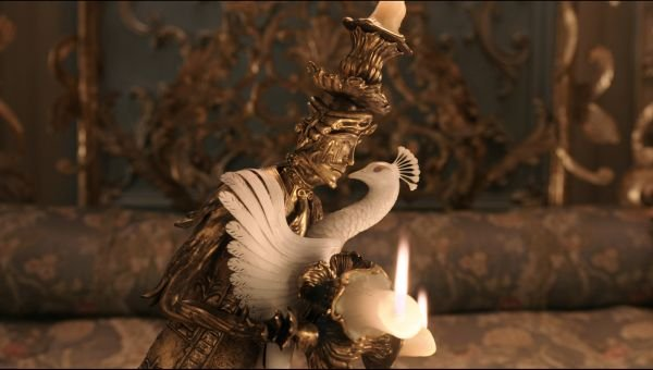 Feather Duster and Lumiere Beauty and the Beast