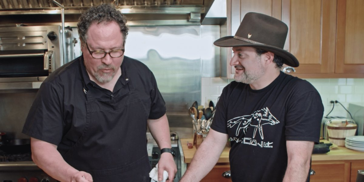 Jon Favreau and Dave Filoni on The Chef Show