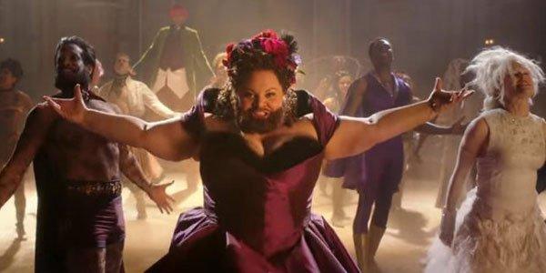 bearded lady keala settle in The Greatest Showman