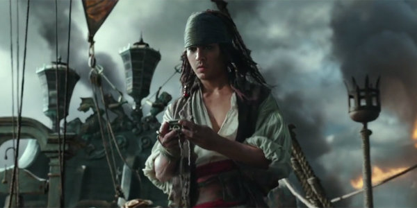 Young Jack Sparrow Pirates of the Caribbean 5