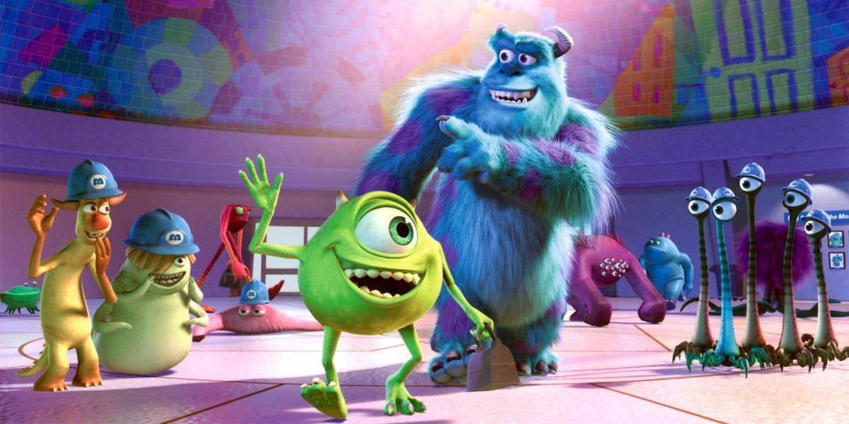 Screenshot from Monsters Inc.